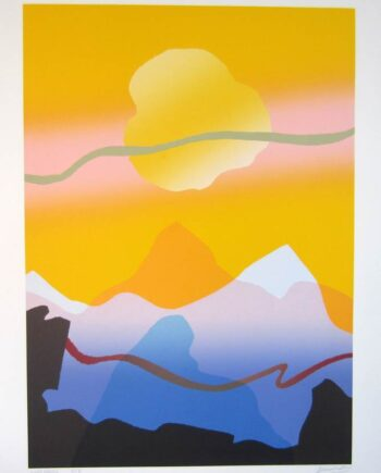 A Good Morning a silkscreen print by Arthur Secunda