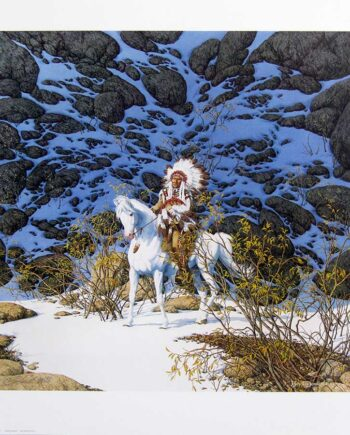 Eagle Heart by Bev Doolittle a limited edition art print