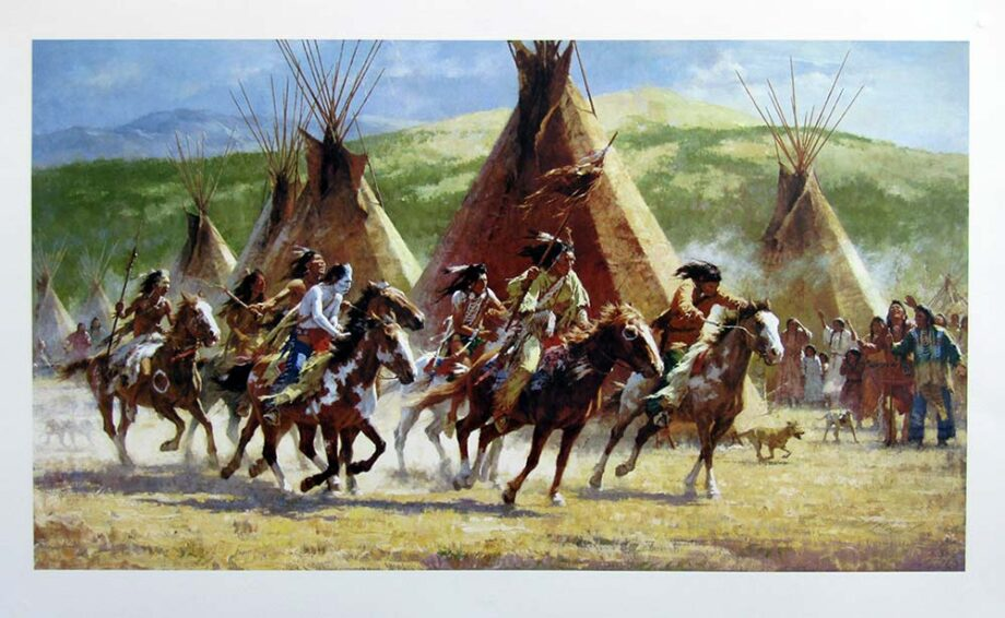 Capture of the Horse Bundle by Howard Terpning a sought after limited edition print