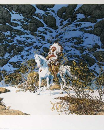 Bev Doolittle limited edition lithograph titled Eagle Heart