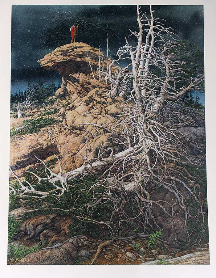 Bev Doolittle limited edition lithograph titled Prayer for the Wild Things