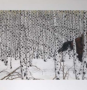 Bev Doolittle limited edition lithograph titled Sacred Ground