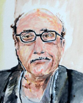 Danny Devito - Original Mixed-Media Painting by Peter Daniels