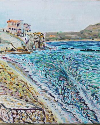 Iberostar - Original Acrylic Painting by Peter Daniels