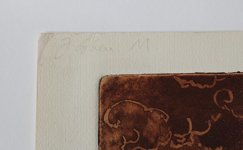 L.G. Cohen A/P limited edition lithograph titled EZEKIEL