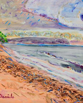 Pembina - Original Acrylic Painting by Peter Daniels