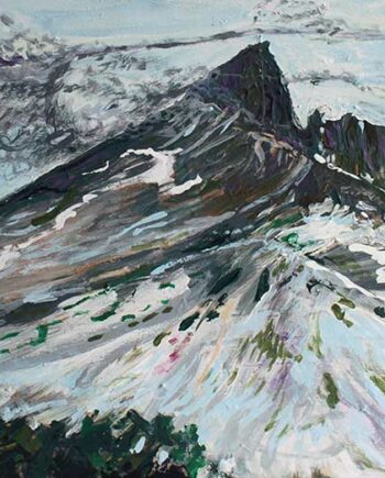 Black Tusk (Whistler) - Original Acrylic Painting by Peter Daniels