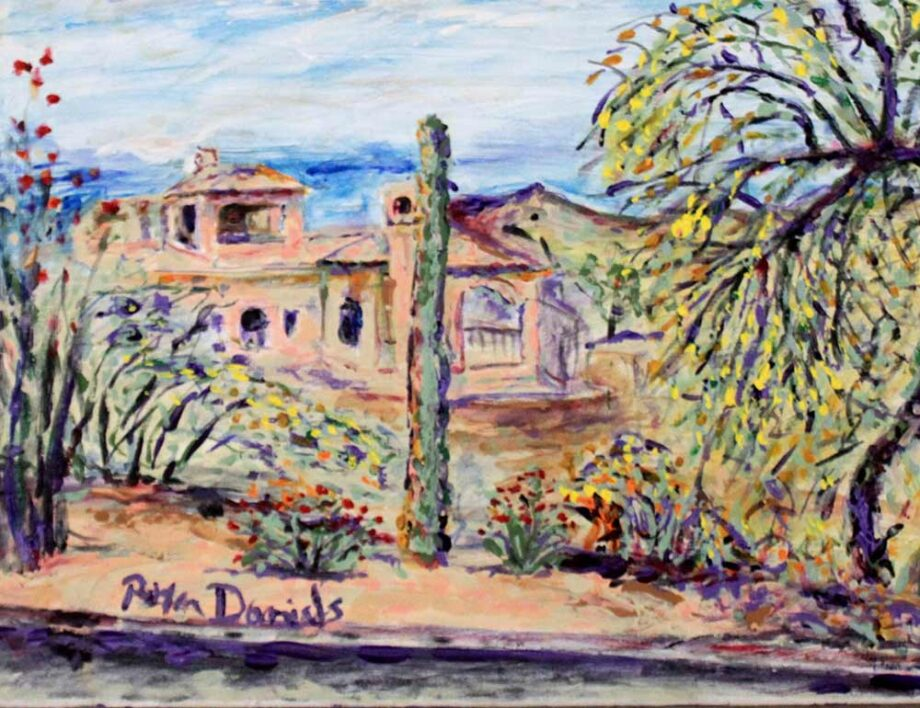 Scottsdale - Original Acrylic Painting by Peter Daniels