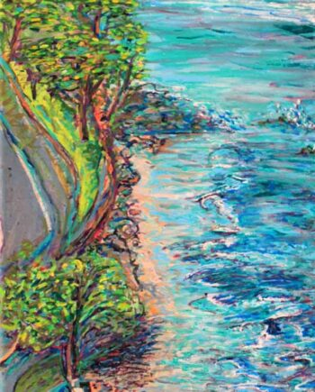 Maui - Original Acrylic Painting by Peter Daniels