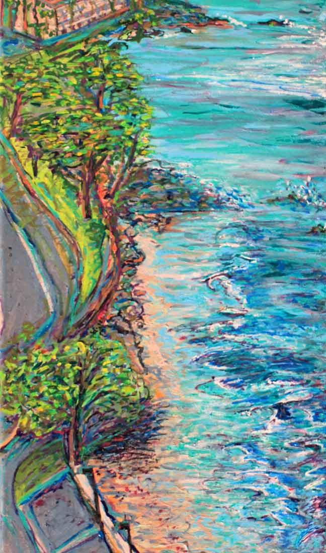 Maui - Original Acrylic Painting by Peter Daniels