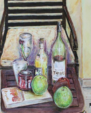 Still Life #1 - Original Acrylic Painting by Peter Daniels