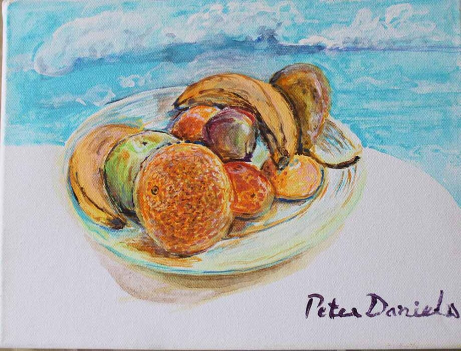 Still life #2 - Original Acrylic Painting by Peter Daniels