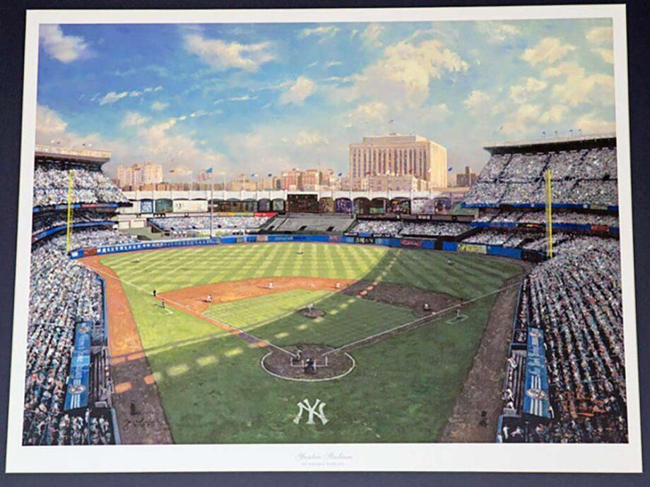 Yankee Stadium by Thomas Kinkade