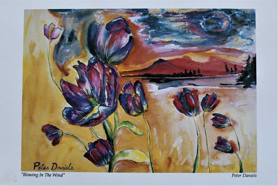 Art Cards 6 x 9 Set of 8 by Peter Daniels
