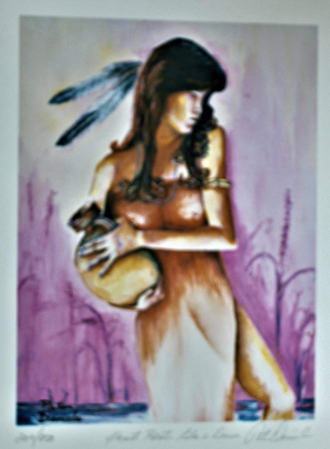 Heart beats like a drum a lithograph 450 S/N by Peter Daniels