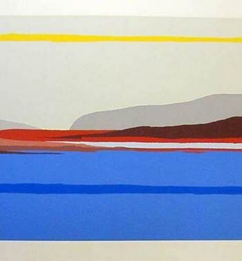 Como a silkscreen by international artist Arthur Secunda