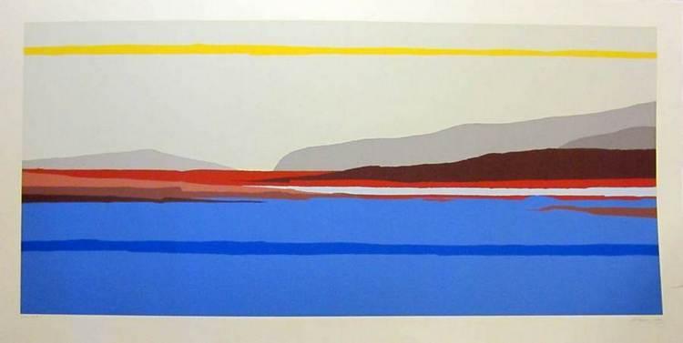 Como a silkscreen by international artist Arthur Secunda