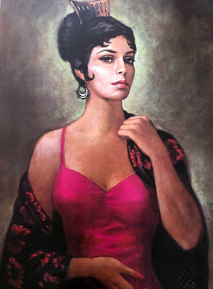 Carmen by Barbara Weber circa 1950s, 60s