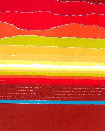 Far as Eye can See a silkscreen by Arthur Secunda