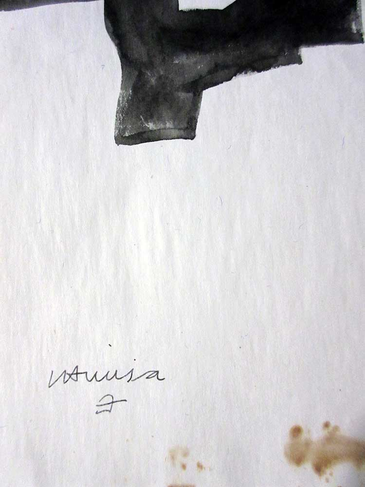 Eduardo Chillida Untitled woodblock print