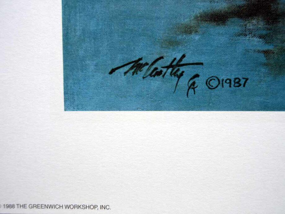 Frank C. McCarthy - artist and illustrator - Saber Charge