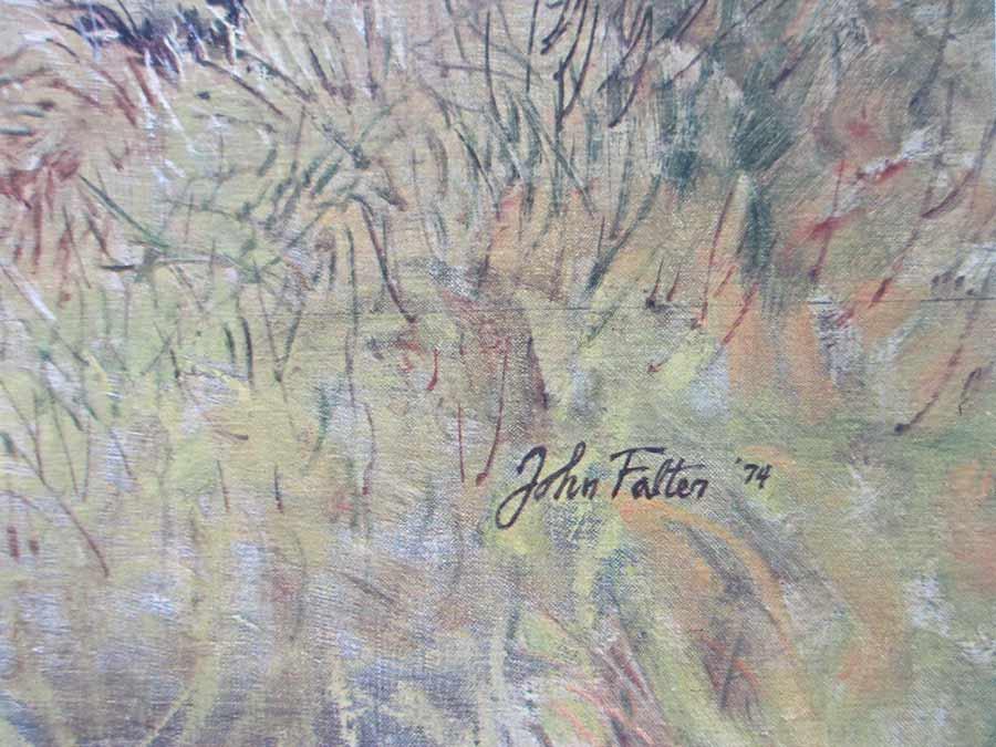 New Land - Old Land by artist John Falter