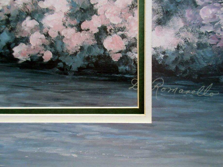 Artist Diane Romanello Giclee print titled Cascade River