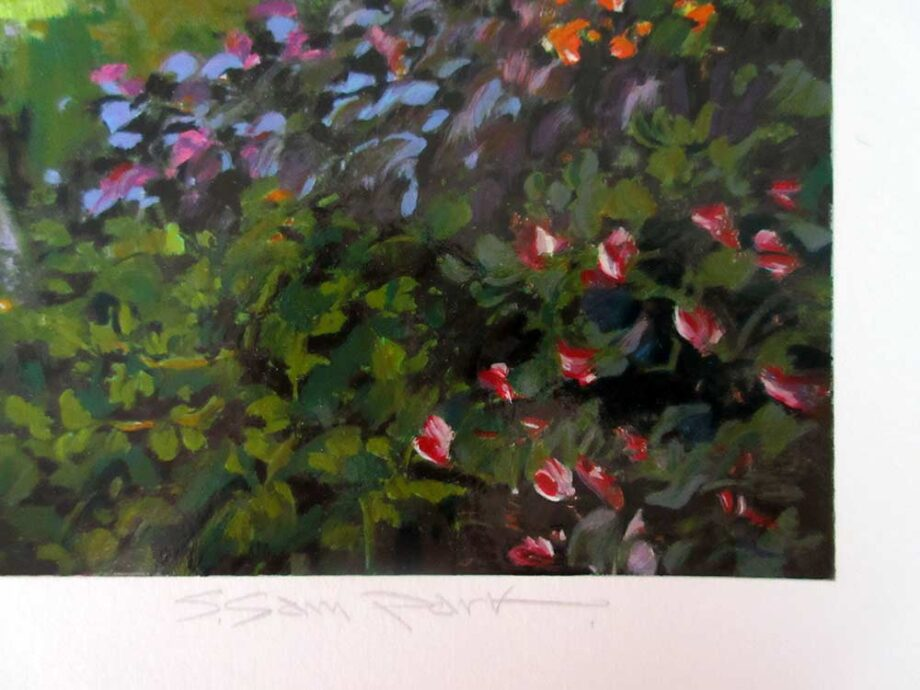 La Jolla a limited edition Serigraph print by noted South Korean Artist S. Sam Park