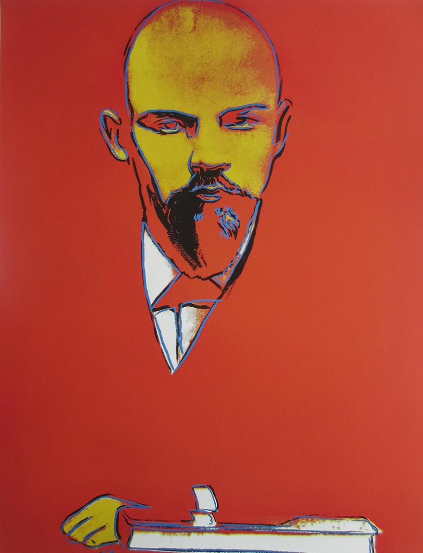 Lenin a Giclee print by Andy Warhol