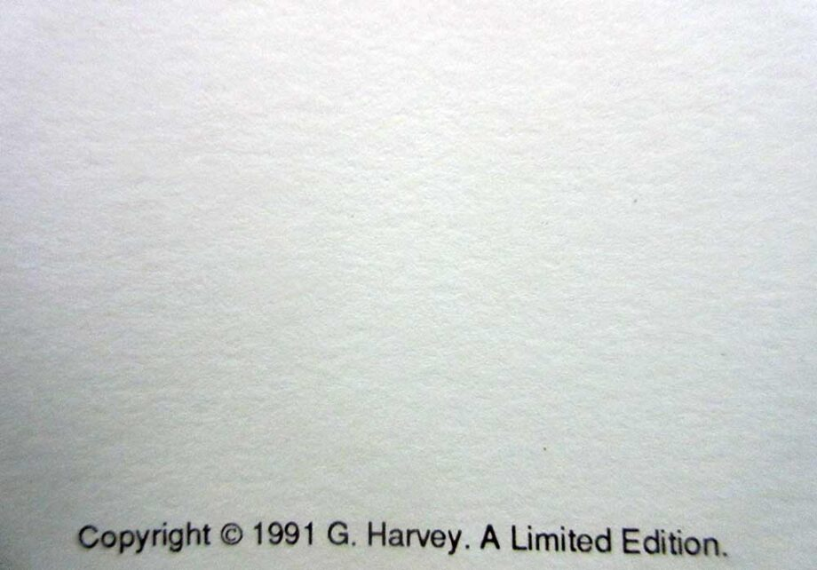 G. Harvey lithographic print Moment of Glory