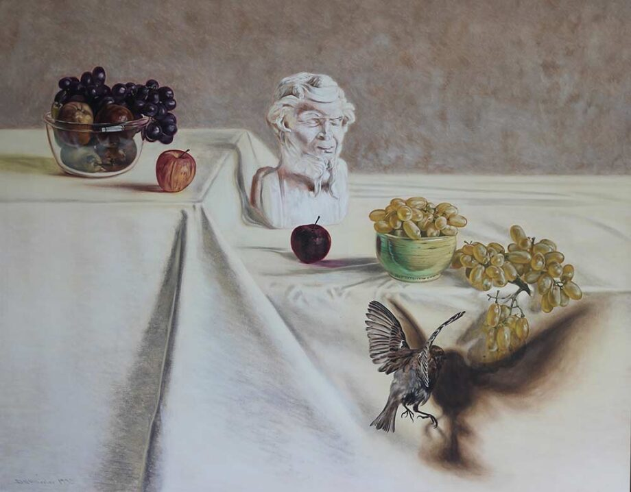 The Grapes of Zeuxis - Oil on Canvas - by David Vincent Wheeler