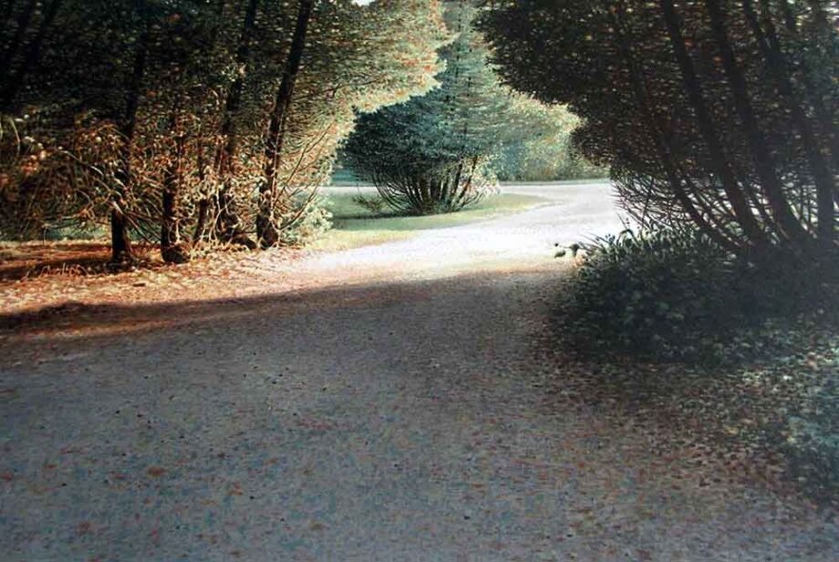 Path to the Meadow - a Lithograph print on paper by Canadian Artist Ken Danby