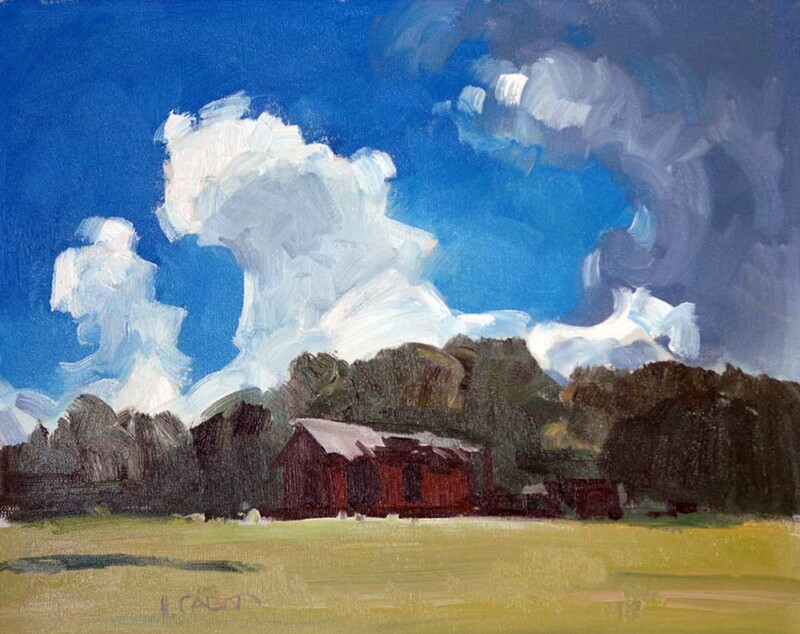 Hugh Cabot III Oil Painting High Mountain Soddy