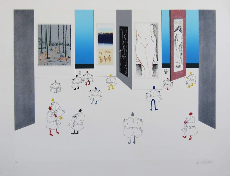 Flasher's Convention by Leo Posillico a popular limited edition print