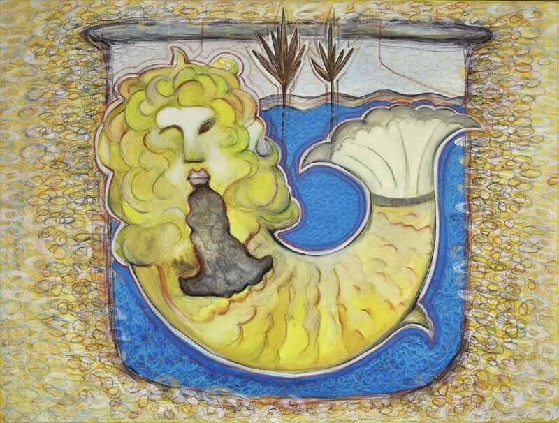 Conscious Mind an Acrylic Painting by Rajesh Choudhari
